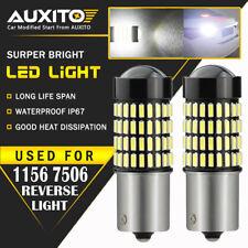 2X AUXITO 1156 7506 Super Bright LED Reverse Back Up Light Bulbs 6000K 102H EOA