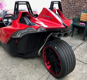 1320 Performance Polaris slingshot quad tip and rear pipe only- not full exhaust
