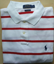Ralph Lauren Short Sleeve Loose Fit Striped T-Shirts for Men