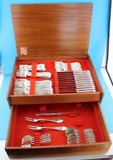 WMF PREMIERE 65 tlg. 90er cutlery Besteck in seltenen HOLZKASTEN TOP Note 2