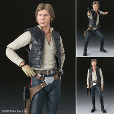 New! Bandai S.H.Figuarts Star Wars Han Solo A New Hope 150mm Action Figure Japan