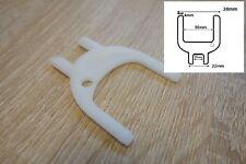 Papier Main Distributeur De Serviettes Blanc Remplacement Clé Universel 38 mm DEB 2 Fourche