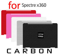 Textured Carbon Fiber Skin HP X360 Spectre 2016 Protector Sticker Wrap cover