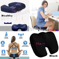 Memory Foam Coccyx Orthoped Seat Cushion Lumbar Back cushion Pain Relief Pillow