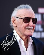 STAN LEE #1 10x8 PRE PRINTED (SIGNED) LAB QUALITY PHOTO - FREE DELIVERY