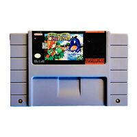 Super Mario World 2 Yoshi's Island Super Nintendo SNES Tested Free Ship