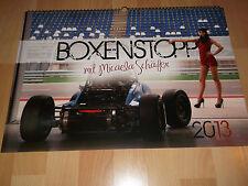 Boxenstopp mit Micaela Schäfer, 2013; Motorsportkalender