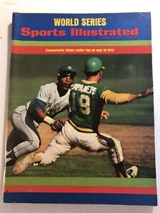 1973 Sports Illustrated OAKLAND A's NEW YORK Mets WORLD SERIES Campaneris MILNER
