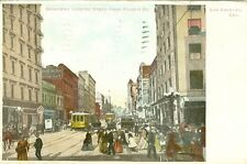 Los Angeles, CA  On Broadway looking North from Fourth Street 1907