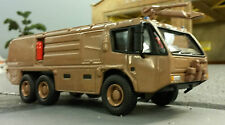 1:76 80 87 HO/OO/00 magirus dragon X6 aéroport militaire rescue fire engine model