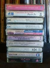 10 Latin Cassette Tape Lot Latin Pop Merengue Salsa Cumbia Reggaeton RARE OOP