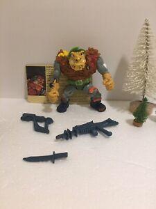 Complete Vintage 1989 Playmates TMNT Teenage Mutant Ninja Turtles General Traag