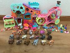 Littlest Pet Shop - Large Lot!  Rare animals!  Houses and Accessories.