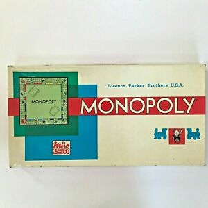 Vintage Monopoly Board Game PARIS French Edition - Complete