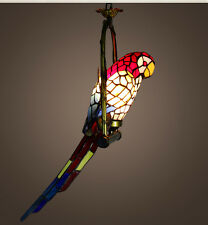 Modern  parrot colorful ceiling fixture lamp Chandeliers pendant lamp  balcony