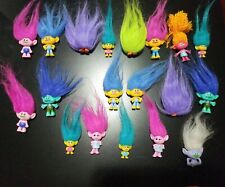 TROLLS DreamWorks Movie Toy Figures Dolls Lot of 19 Assorted