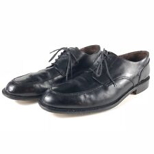 Brass Boot Mens Split Toe Oxfords Shoes Black Leather Spain Made Size 14