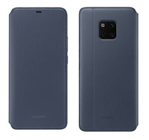 GENUINE HUAWEI MATE 20 PRO WALLET CASE COVER - DEEP BLUE
