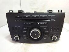 11-13 Mazda 3 Satellite Radio Single Cd Mp3 WMA Player BGV4669R0 SQ7782