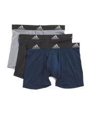 Men's Adidas  Boxer Briefs / Performance Underwear 3- PACK SZ LARGE ATHLETIC FIT