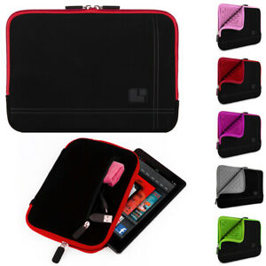 """SumacLife Padded Tablet Sleeve Pouch Case Carry Bag For 8"""" Amazon Fire HD 8 Plus"""