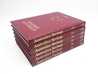 Australia's Heritage Vintage History Encyclopedia Books - Australian Bulk Lot