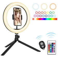 "10.2"" Selfie Portable 120 LED Phone Ring Fill Light Lamp Camera Photo Video Live"