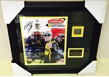 MATT KENSETH Signed Framed Photo Tire 2003 Winston Cup Championship Autograph