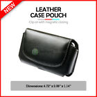 NEW HOT! Genuine Leather Pouch Belt Phone Case for Android LG Exalt LTE