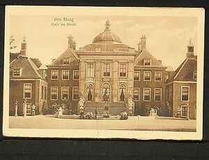 NETHERLANDS 65.-DEN HAAG -1923 Huis ten Bosch
