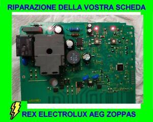 Riparazione scheda elettronica lavastoviglie Rex Electrolux AEG