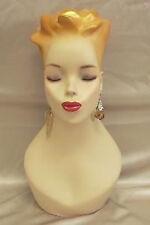 Mannequin Head Bust Vintage Wig Hat Jewelry Display#Y4G