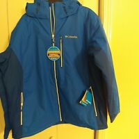 Columbia Abstractus Insulated Waterproof Jacket Men S Size