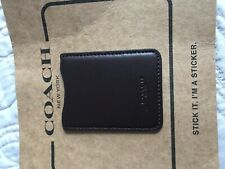 COACH Adhesive Card Holder For Phone