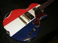 Epiphone Les Paul Jr Special - Buck Owens Relic'D Guitar - By Boneyard Guitars