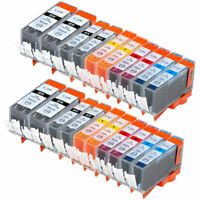 20 PK INK PGI-220 CLI-221 XL NON-OEM FOR CANON PIXMA MP560 MP640 MX870 MP620