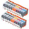 20 PK INK PGI-220 CLI-221 XL NON-OEM FOR CANON PIXMA MP560 MP640 MX870 MP620