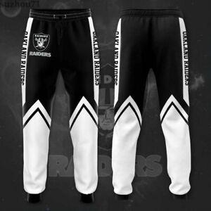 Oakland Raiders US Football Sweatpants Sport Pants Jogging Pants Casual Trousers