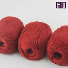 Sale New 3 Balls x 50gr Luxurious Soft Mongolian Pure Cashmere Hand Knit Wool 10