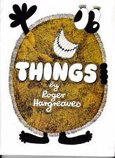 THINGS---ROGER HARGREAVES---HC---1st1981---HODDER & STOUGHTON