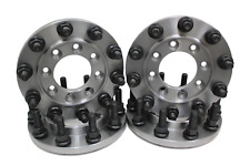 STEEL 22.5 SEMI WHEEL 8 TO 10 LUG DUALLY ADAPTERS GMC DODGE FORD AND CHEVY 1 TON