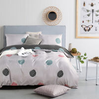 Comfort Soft Duvet Cover Set Comforter Bedding Sets Twin Queen King All Size New