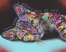 Most Days I Wish I Was My Cat by Dean Russo Art Print Home Modern Decor 981826