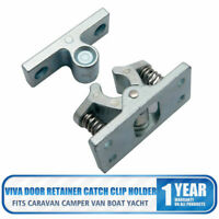 Alloy Retainer For Veneta Door Caravan Catch Boat Zinc Clip And Motorhomes