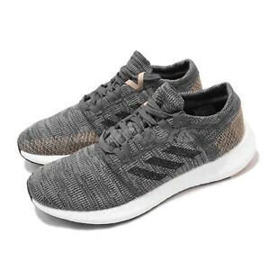 Adidas PureBOOST GO [B37806] Men's Running Shoes Grey/Black-Pale Nude