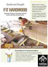 290 x 45 Hardwood F17 KD Set Lengths Fencing Bearers Joists 290x45 $27.90plm