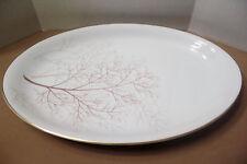 "ROSENTHAL Serving Platter 12 3/4""  BRAMBLE Brown Taupe Trees   # 3092"