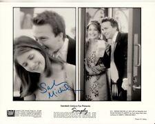 Sarah Michelle Gellar signed Simply Irresistible 8x10 w/ coa Original 1999 Photo