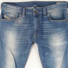 Mens Diesel THANAZ OR8M1 Stretch Slim-Skinny Blue Jeans W36 L34