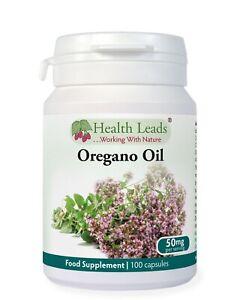 Oregano Oil 25mg x 100 softgel capsules